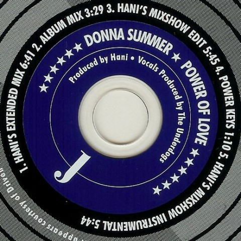 Donna Summer - Power Of Love