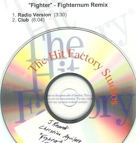 Christina Aguilera - Fighter - CD