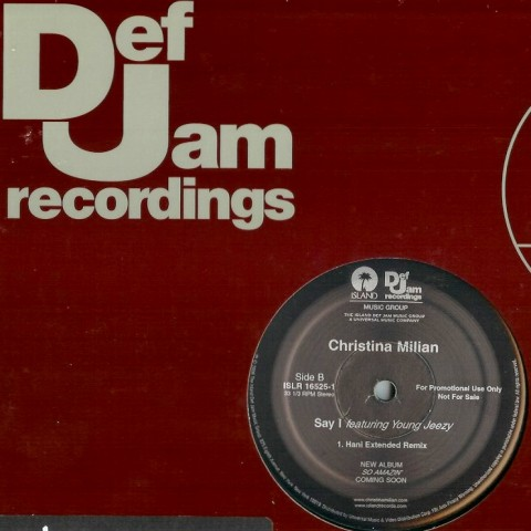 Christina Milian - say I - 12 promo