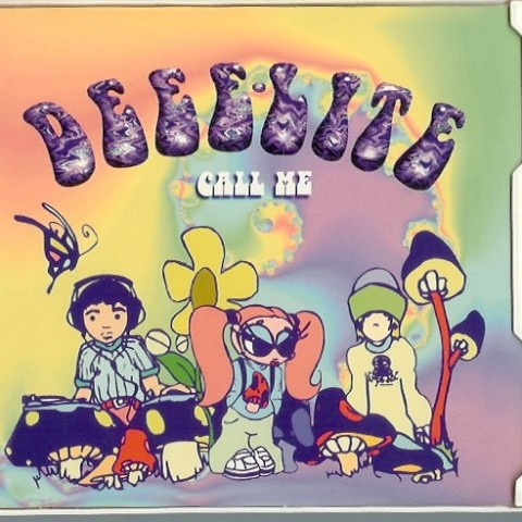Deee-Lite - call me - cd cover