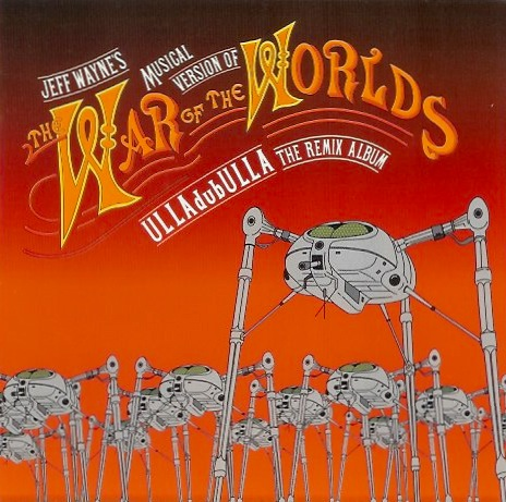 Jeff Wayne - CD cover