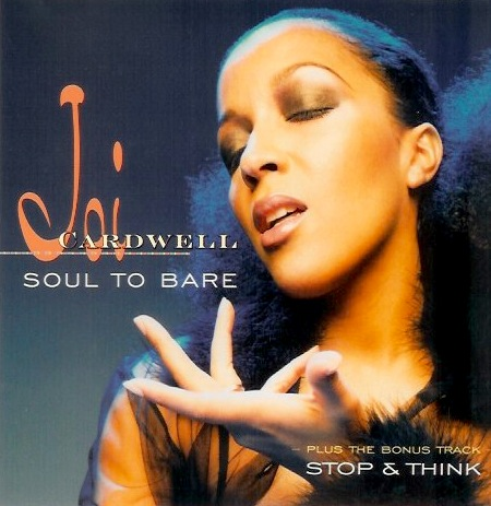 Joi Cardwell - Soul to bare - cover
