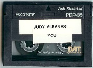 Judy albanes - you