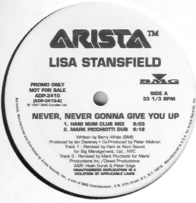 Lisa Stansfield -12 promo