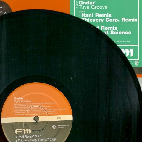 Ondar - vinyl  cover