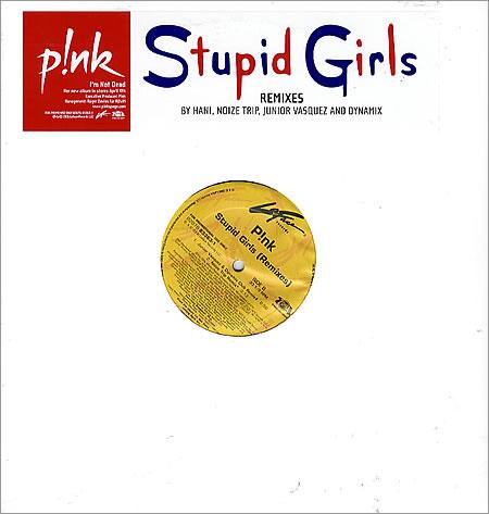 Pink - stupid gilr - promo12