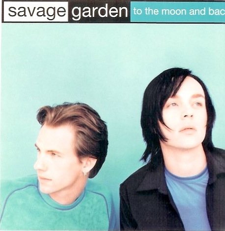 Savage Garden - tothe maoon - cd front